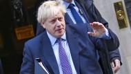 Eine Unterschrift war nicht verlangt – also ließ Boris Johnson sie einfach weg.