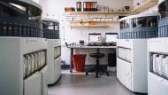 In der Pathologie des Universitätsklinikums Essen werden Gewebeproben gescannt und digitalisiert