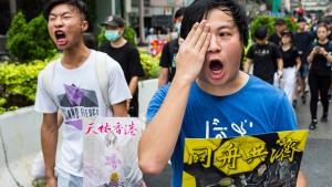"""""""Marsch der Millionen"""" in Hongkong für Sonntag geplant"""