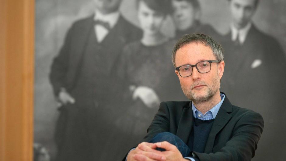 Kennt die Kunsträume nur menschenleer: Andreas Henning, neuer Leiter des Museums Wiesbaden