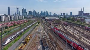 Fernbahntunnel unter Frankfurter Innenstadt geplant