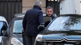 Sarkozy wird wegen illegaler Wahlkampffinanzierung weiter befragt
