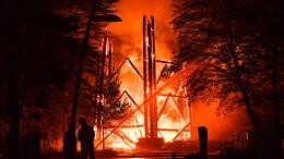 Gibt es in Frankfurt einen Feuerteufel?
