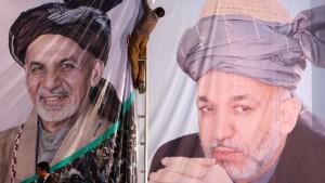 Ashraf Ghani als Präsident vereidigt