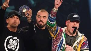 Polizei geht bei Konzert gegen Rap-Duo vor