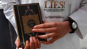 Die Koran-Verteiler