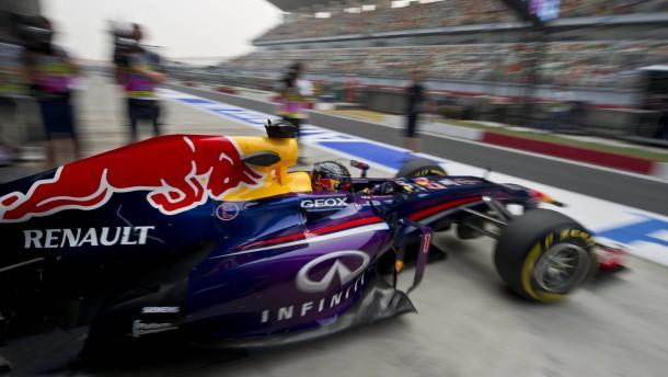 Vettel mit Tagesbestzeit