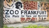 Öffnet seinen Osteingang für einige Monate: der Frankfurter Zoo