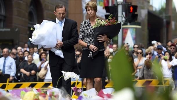 """Abbott: Täter """"besessen von Extremismus"""""""