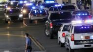 Ein Polizeieinsatz in North Carolina (Archivbild)