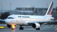 Ein Airbus A320 der Air France