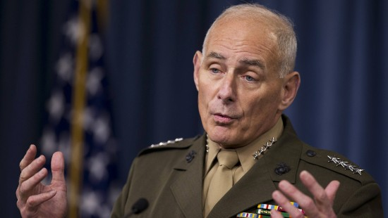Ex-General Kelly soll Trumps Heimatschutzminister werden