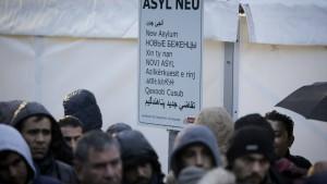Balkan-Migranten werden abgeschreckt