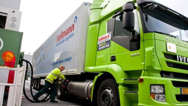 Erdgas-Lastwagen sind keine Lösung für das Klima