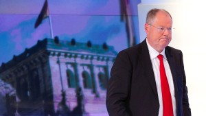 Steinbrück wirft SPD Realitätsverweigerung vor