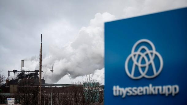 Thyssen-Krupp erteilt Verkauf von Stahlsparte Absage