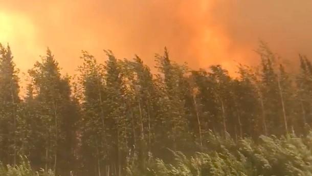 Gefahr für weitere Feuer in Alaska so hoch wie nie