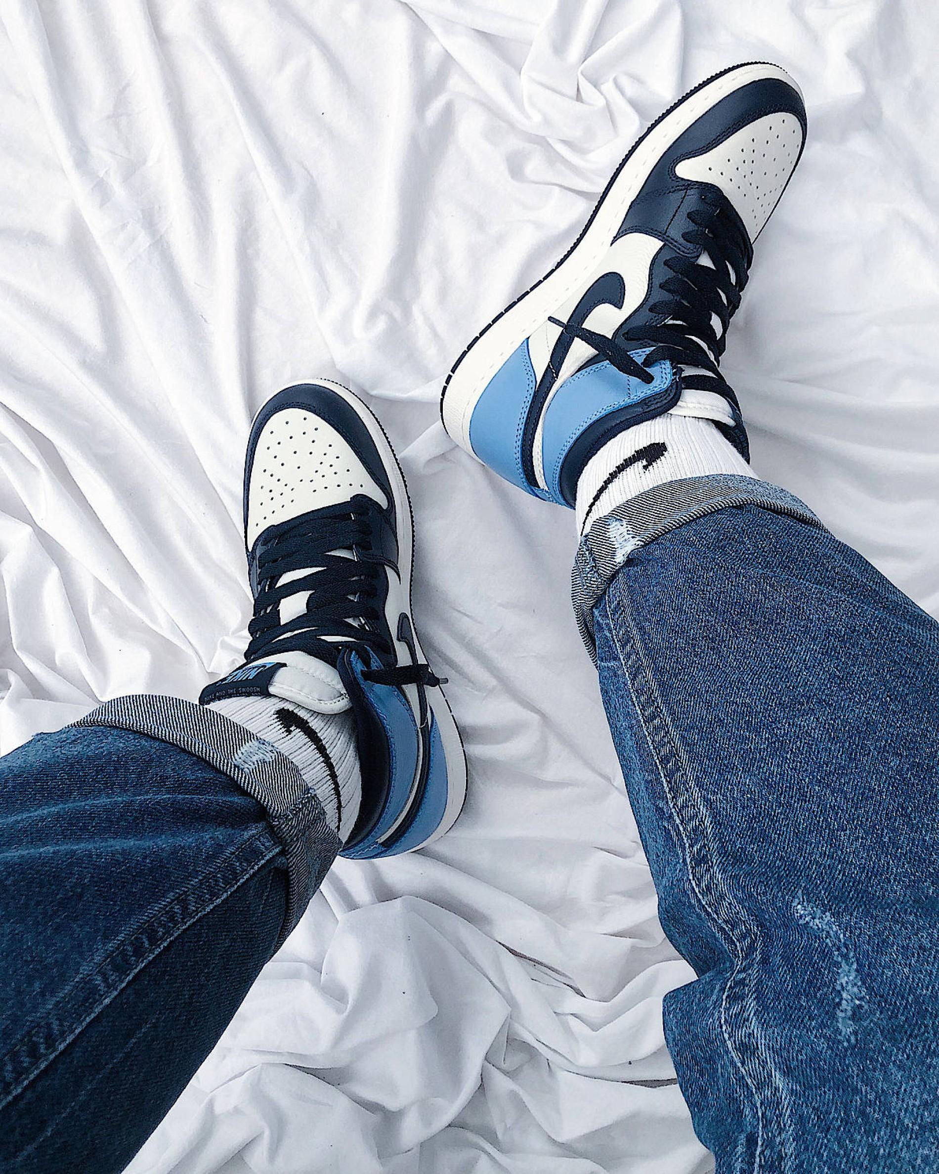 air jordan 1 blue chill stockx