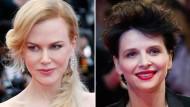Starke Frauen in extremen Situationen: Die Berlinale-Gäste Nicole Kidman, Juliette Binoche, Helen Mirren und Lea Seydoux (siehe Vollansicht)