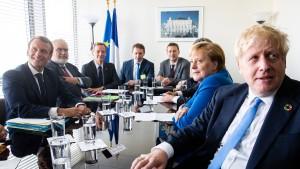 Merkel, Macron und Johnson machen Iran für Angriff verantwortlich