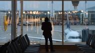 Gestrandet am Flughafen München