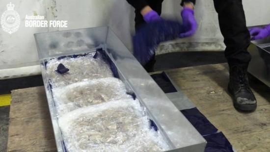 Australischer Polizei gelingt Schlag gegen Drogenschmuggel