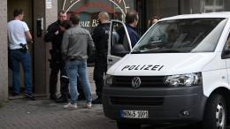 Polizei durchsucht Wohnungen wegen Terrorgefahr