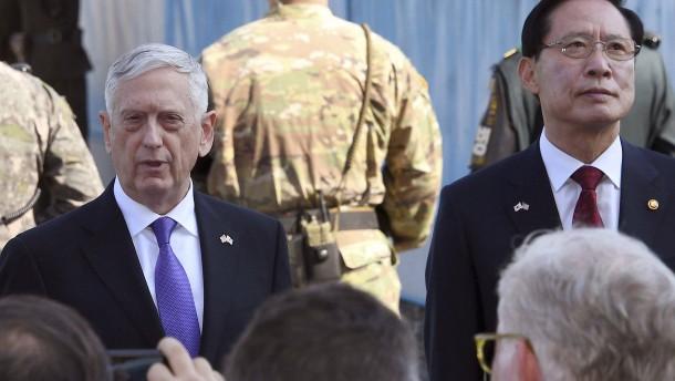 Mattis: Vereinigte Staaten wollen keinen Krieg mit Nordkorea