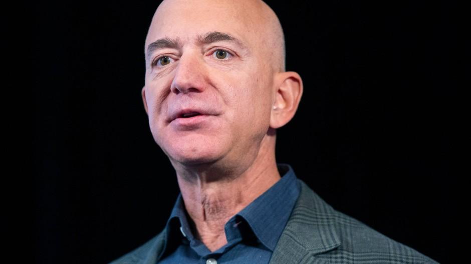 Der Amazon-Gründer Jeff Bezos im September 2019