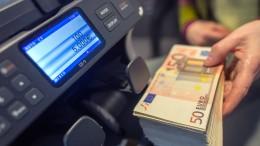 Abschied von der Bargeld-Obergrenze