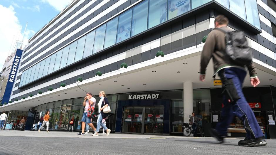 Kein Leerstand: Das Karstadt-Warenhaus an der Zeil bleibt bis Januar 2025 geöffnet.