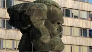 Symbol von Chemnitz: Karl-Marx-Denkmal