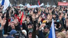 Tausende Ungarn demonstrieren gegen Orban