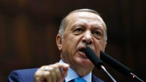 """Erdogan wirft Amerika """"evangelikale, zionistische Mentalität"""" vor"""