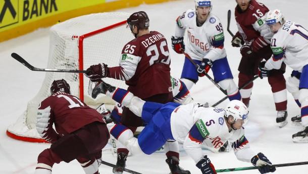 Gastgeber Lettland bangt um Viertelfinaleinzug