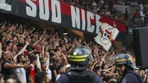 Zuschauerverbot und Punktabzug für Nizza
