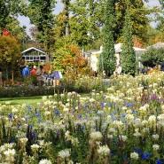 Umbau: Wo ehedem die Landesgartenschau in Bad Nauheim war, soll im Goldsteinpark ein Treffpunkt für junge Leute geschaffen werden. Lade-Station fürs Handy inklusive