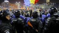 Diebstahl wird legal gemacht: Wütende Proteste in Rumänien