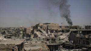 Hunderte tote Zivilisten bei Sturm auf Mossuls Altstadt