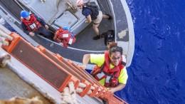 Seglerinnen nach fünf Monaten auf See gerettet