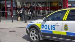 Schwedische Polizei: Mehrere Verletzte bei Terrorangriff