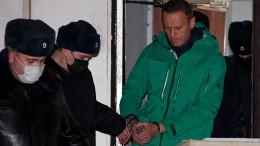 "Der Fall Nawalnyj sei ""absurd"""