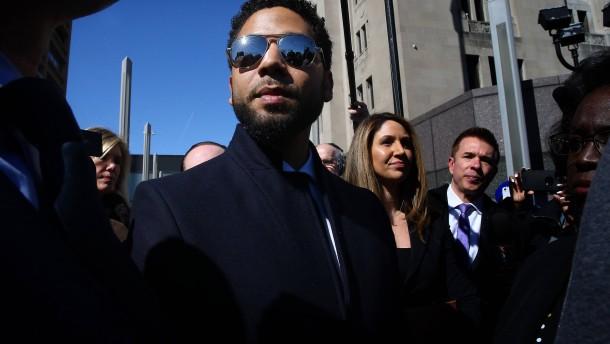 Anklage gegen Schauspieler Jussie Smollett fallengelassen