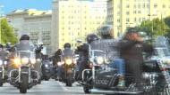 Hells Angels demonstrieren in Berlin gegen Kuttenverbot