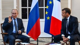 Kreml verdreht Macrons Worte