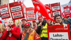 Jeder Fünfte verdient unter zehn Euro pro Stunde