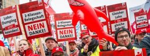 Gegen den Trend zu Niedriglohn-Jobs können Gewerkschaften wenig ausrichten.