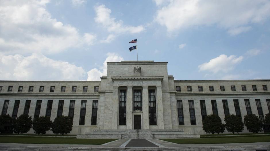 Gebäude der amerikanischen Notenbank Federal Reserve in Washington