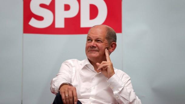 Umfragehoch für die SPD nach Scholz-Nominierung