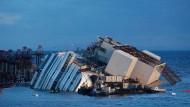 Bergung der Costa Concordia hat begonnen